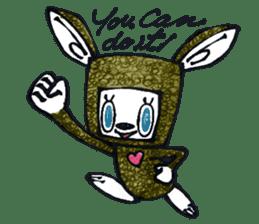 Funny Bunny Shaggy sticker #4164266