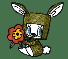 Funny Bunny Shaggy sticker #4164270