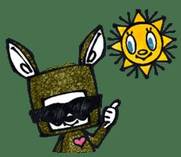 Funny Bunny Shaggy sticker #4164272