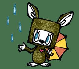Funny Bunny Shaggy sticker #4164273
