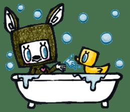 Funny Bunny Shaggy sticker #4164274