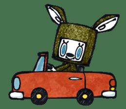 Funny Bunny Shaggy sticker #4164275