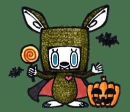 Funny Bunny Shaggy sticker #4164277