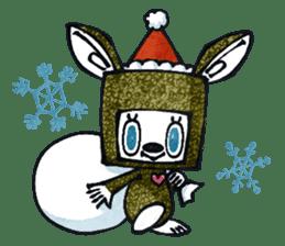 Funny Bunny Shaggy sticker #4164278