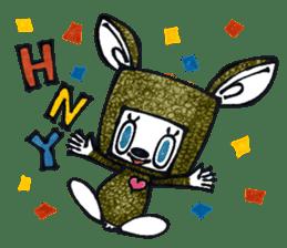 Funny Bunny Shaggy sticker #4164279