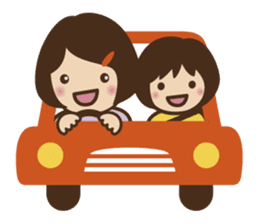 Let's talk with mom and mom! sticker #4169095