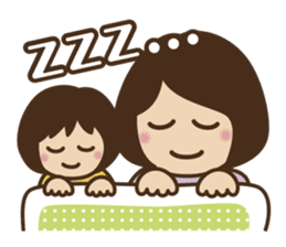 Let's talk with mom and mom! sticker #4169113