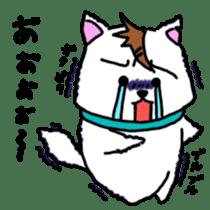 GERAWANKO is faithful dog? sticker #4176982