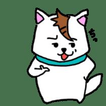 GERAWANKO is faithful dog? sticker #4176983