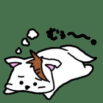 GERAWANKO is faithful dog? sticker #4176988