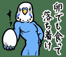 Troublesome budgerigar sticker #4181415