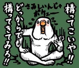 Troublesome budgerigar sticker #4181421