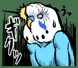 Troublesome budgerigar sticker #4181424