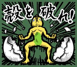 Troublesome budgerigar sticker #4181427