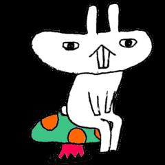 Flat rabbit