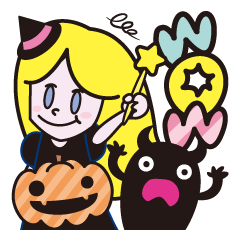 KAWAII monster & Halloween