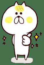 Meronpan Cat Sticker. sticker #4184267