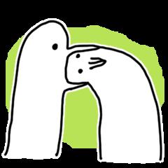 useful bird sticker