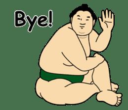 A cute Sumo wrestler 2 (English) sticker #4197569
