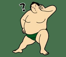 A cute Sumo wrestler 2 (English) sticker #4197583