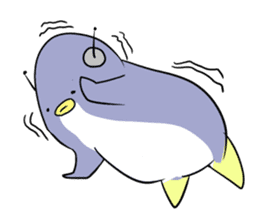 Dancing penguin sticker #4197862