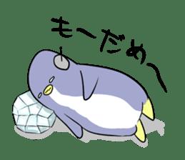 Dancing penguin sticker #4197869