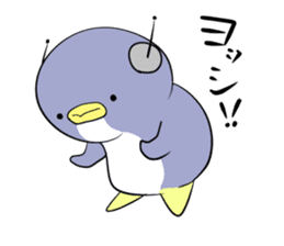 Dancing penguin sticker #4197870