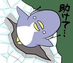 Dancing penguin sticker #4197871
