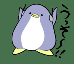 Dancing penguin sticker #4197874