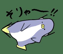 Dancing penguin sticker #4197877