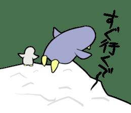 Dancing penguin sticker #4197879