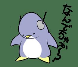 Dancing penguin sticker #4197881