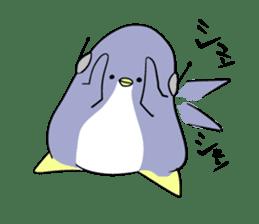 Dancing penguin sticker #4197882