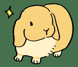 English Bunny sticker #4202699