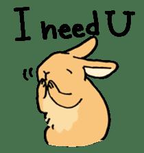 English Bunny sticker #4202706