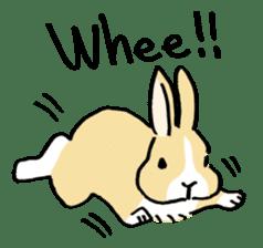 English Bunny sticker #4202709