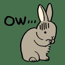 English Bunny sticker #4202712