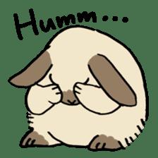 English Bunny sticker #4202714