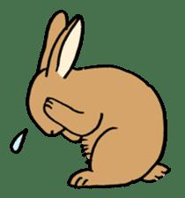 English Bunny sticker #4202715
