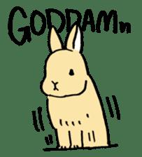 English Bunny sticker #4202717