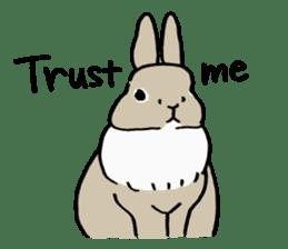 English Bunny sticker #4202719