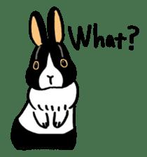 English Bunny sticker #4202726
