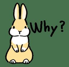 English Bunny sticker #4202727