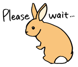 English Bunny sticker #4202729
