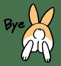 English Bunny sticker #4202735