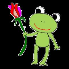 Love, healing frog 2
