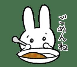 CurryUsagi sticker #4212660