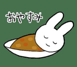 CurryUsagi sticker #4212686