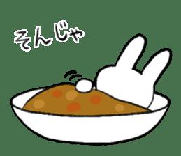 CurryUsagi sticker #4212687