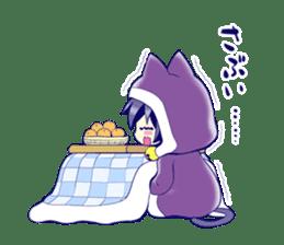 kuroneko KOTATSU sticker #4215770